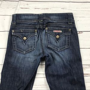 Women's Hudson Size 27 Flare Mid Rise Jeans